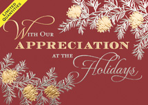 In Appreciation Holiday Cards