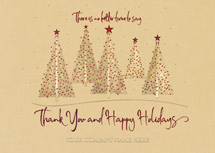 Warm Woodland Holiday Cards